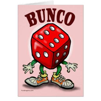 Bunco Hälsningskort