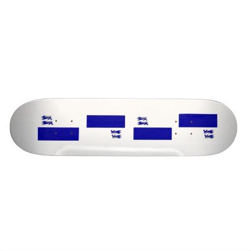 Bund Danmark Mini Skateboard Bräda 18,7 Cm