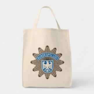 Bundespolizeistern emblem mat tygkasse
