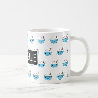 Bunkar för personligKawaii ris Kaffemugg