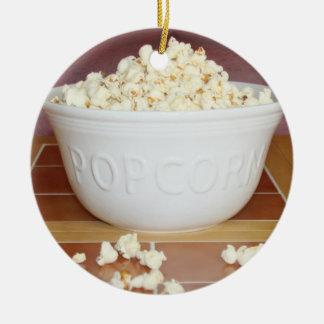 Bunke av Popcorn Julgransprydnad Keramik