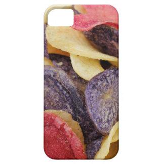 Bunken av den blandade potatisen gå i flisor iPhone 5 cover