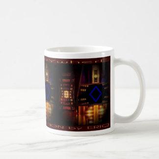 Burbandy Kaffemugg