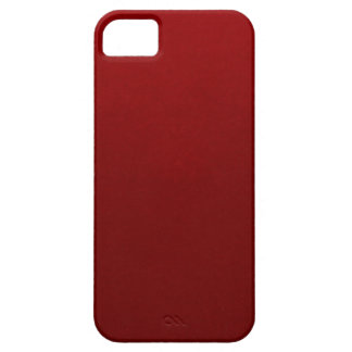 Burgundy iPhone 5 Cover