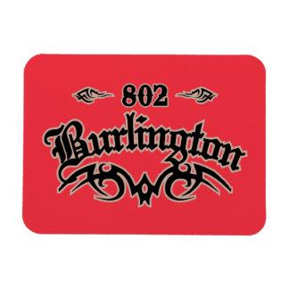 Burlington 802 magnet