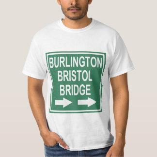 Burlington-Bristol överbryggar undertecknar Tröjor