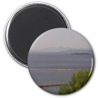 Burlington fjärd, sjö Champlain.jpg Magnet