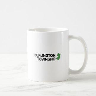 Burlington församling som är ny - jersey kaffemugg