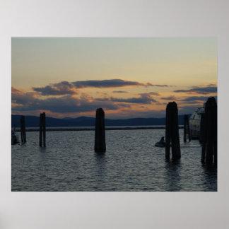 burlington hamn poster