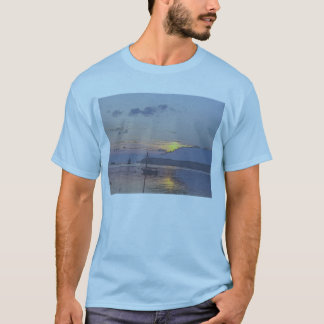 Burlington sjölandskap t-shirts