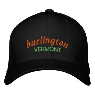 Burlington Vermont Ballcap Broderad Keps