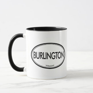 Burlington Vermont Mugg