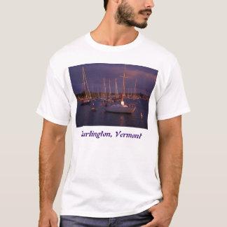 Burlington Vermont sjöChamplain fartyg Tee Shirts