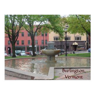 Burlington Vermont Vykort
