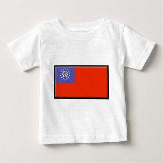 Burma (Myanmar) flagga T-shirt