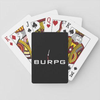 BURPG som leker kort Spelkort