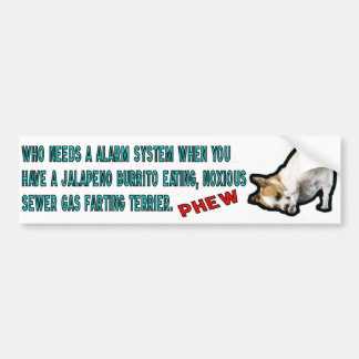 Burrito som äter den rikliga etiketten för Terrier Bildekal
