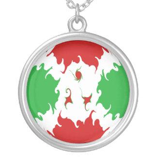 Burundi Gnarly flagga Personliga Halsband