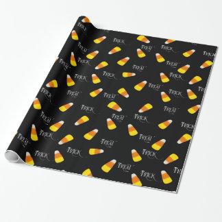 Bus eller godiscandy cornmönster presentpapper