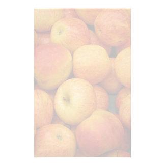 Bushel av läckra äpplen brevpapper