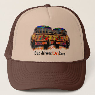 Bussförare att bry sig keps