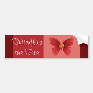Butterflie sare frigör bildekal