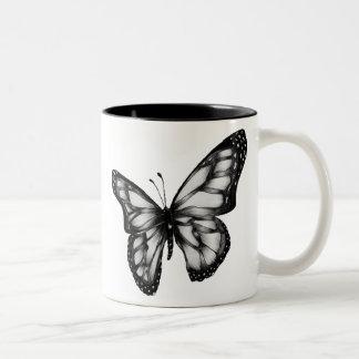 butterfly.gif 400389 PIXEL Två-Tonad Mugg