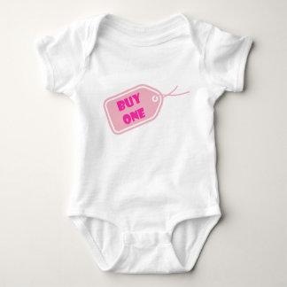 Buy1 kopplar samman bebisromper-rosor t-shirt