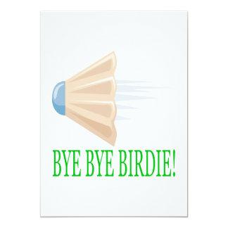 Bye - byepippi 12,7 x 17,8 cm inbjudningskort
