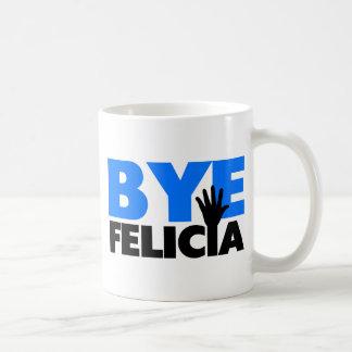 ByeFelicia räcker vinkar djärva blått Kaffemugg
