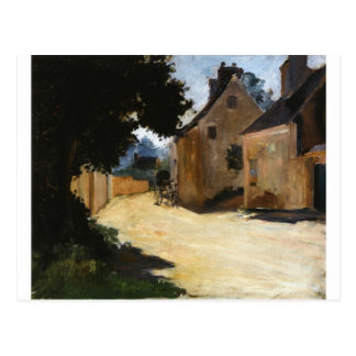 Bygata, Louveciennes Pierre-Auguste Renoir Vykort