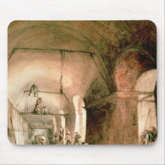 Bygga den Thames tunnelen, c.1830 Musmatta