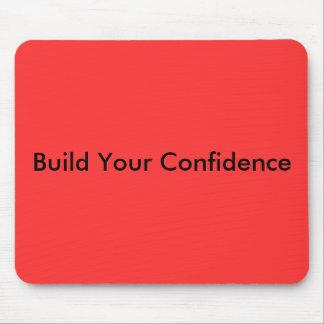 Bygga ditt förtroende musmatta