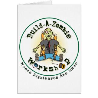 bygga en zombie hälsningskort