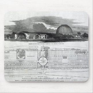 Bygga för den underbara industriella utställningen mus matta