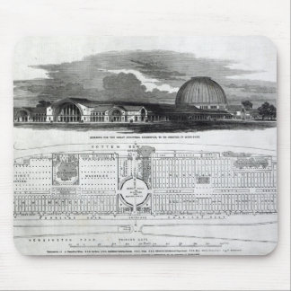 Bygga för den underbara industriella utställningen musmatta