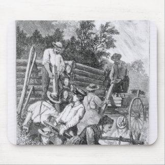 Bygga Logga-Kabinen Musmatta
