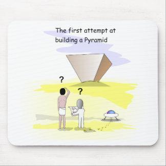 Bygga pyramiderna mus matta