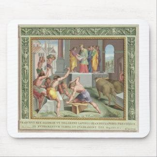 Bygga tempelet av Solomon, illustration från Musmatta