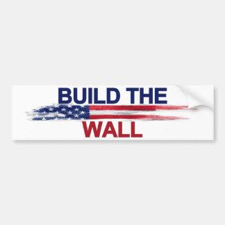 Bygga väggen bildekal