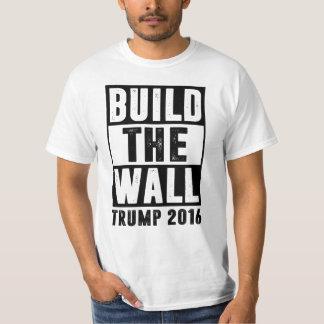 Bygga väggen - trumf 2016 tröja