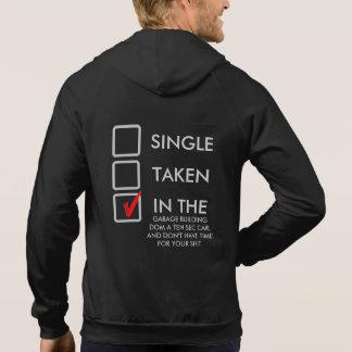 ByggandeDOM en tävlingbil Sweatshirt Med Luva