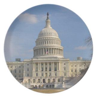 Byggnad för Washington DC Capitol Hill Tallrik