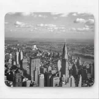 Byggnad-Mousepad för 1932-New York-Chrysler Musmatta