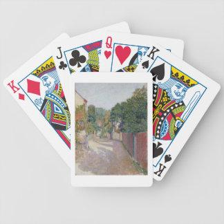 ByLane (olja på kanfas) Spelkort