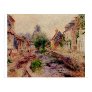 Byn vid Pierre-Auguste Renoir Vykort