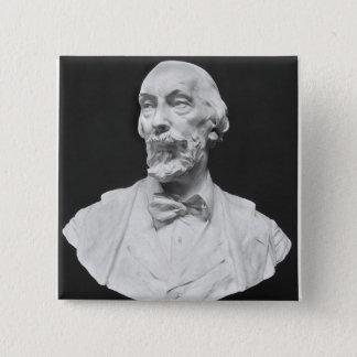 Byst av Auguste Vacquerie Standard Kanpp Fyrkantig 5.1 Cm