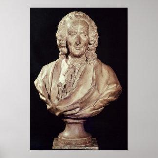 Byst av Jean-Philippe Rameau 1760 Poster
