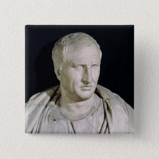 Byst av Marcus Tullius Cicero Standard Kanpp Fyrkantig 5.1 Cm