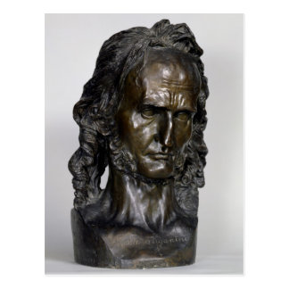 Byst av Nicolo Paganini 1830 Vykort
